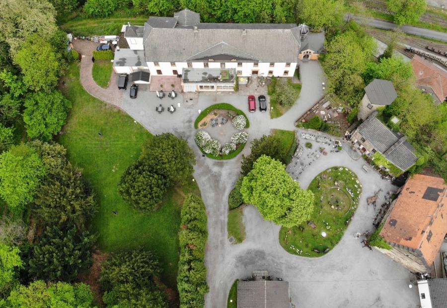 Luftaufnahme Schloss Steinhausen