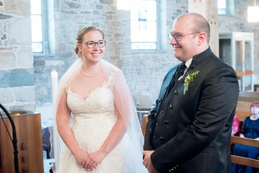 Brautpaar Kirche Dortmun