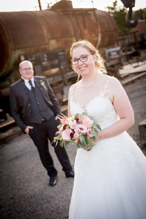 Paarfotos Hochzeit Zeche Zollern
