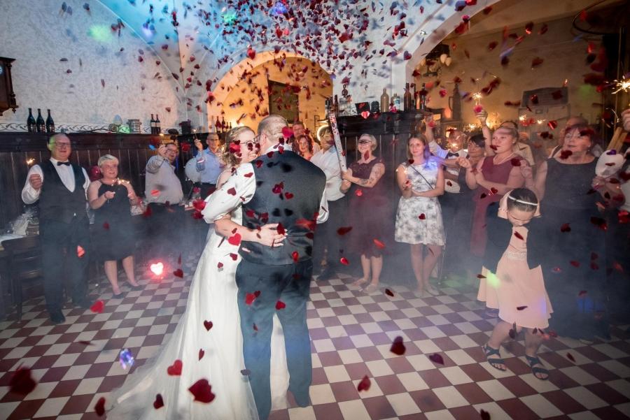 Eröffnungstanz Brautpaar Hochzeit