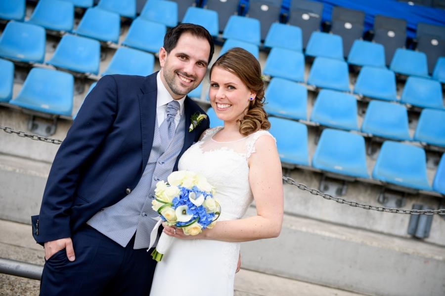 Brautpaar Ruhrstadion