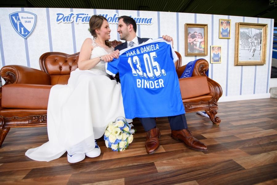 Hochzeitsfotos Bochum Stadion