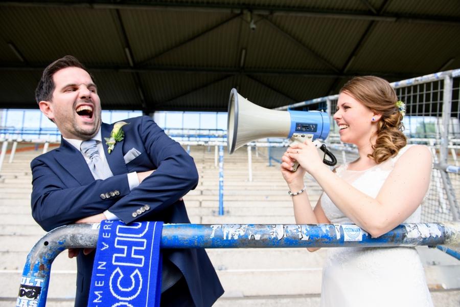 Hochzeitsfotos Ostkurve Bochum
