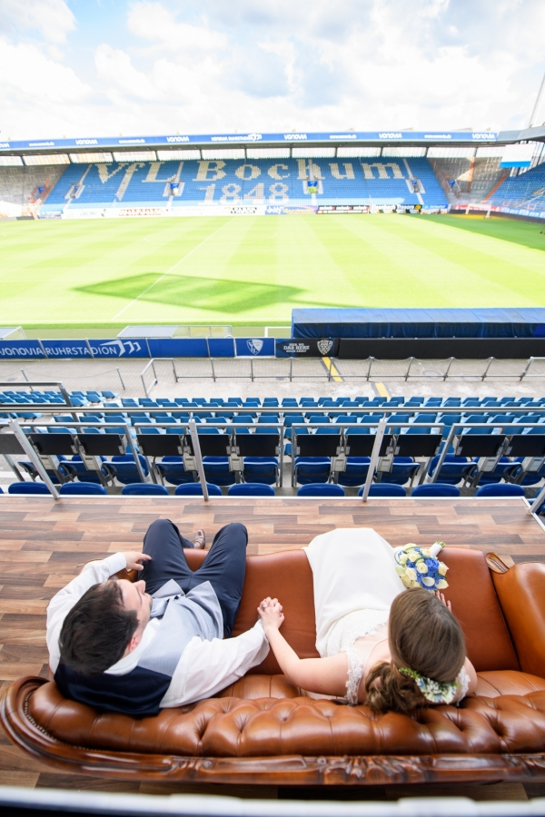 Hochzeitsfotos Ruhrstadion